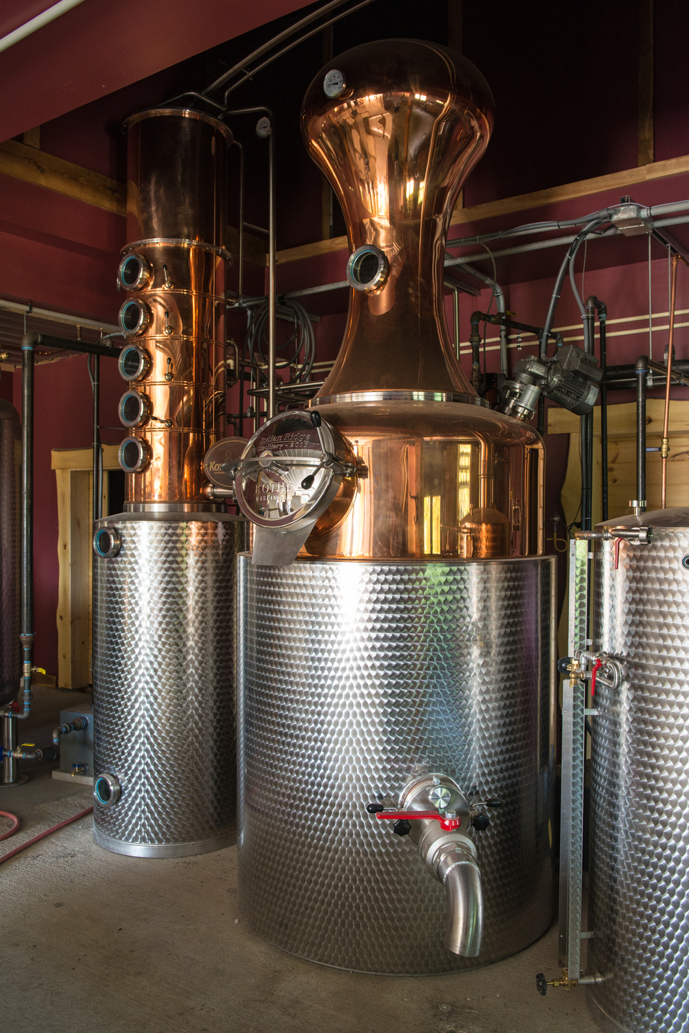 Distilation Pot and Condenser - Queensbury NY - August 2014
