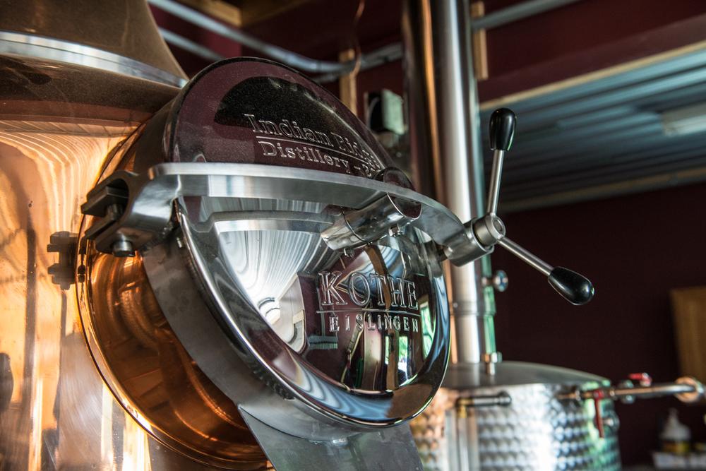 Indian Ridge Distillery Cap - Queensbury NY - August 2014