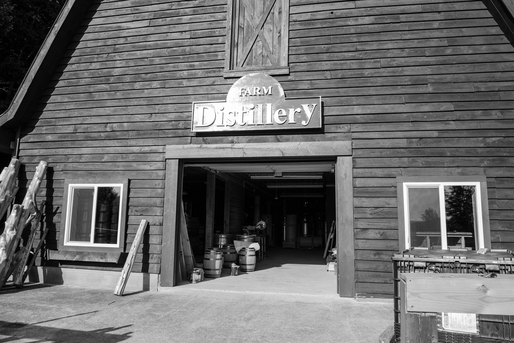 Farm Distillery - Queensbury NY - August 2014