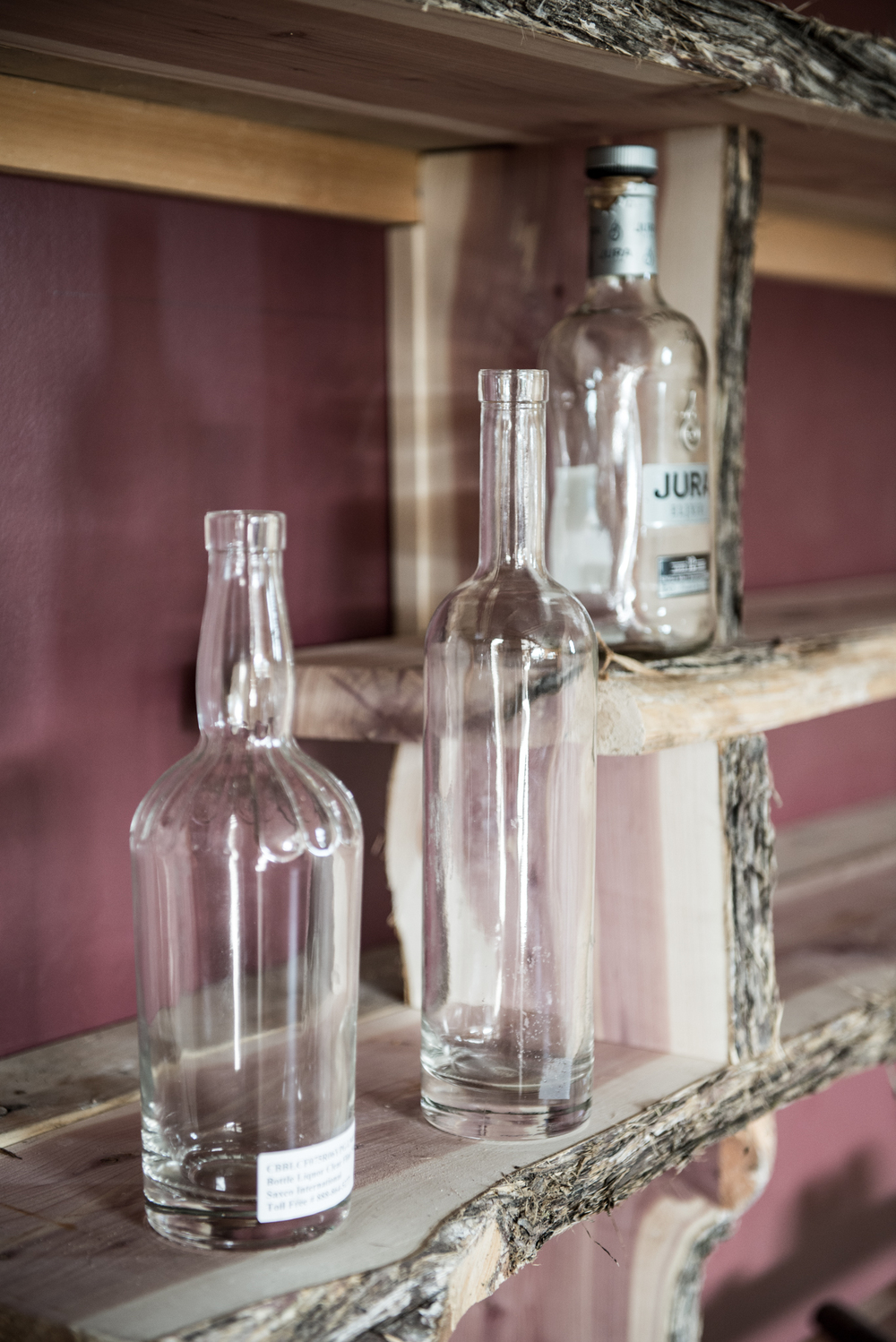 Clear Spirits and Clear Bottles - Queensbury NY - August 2014