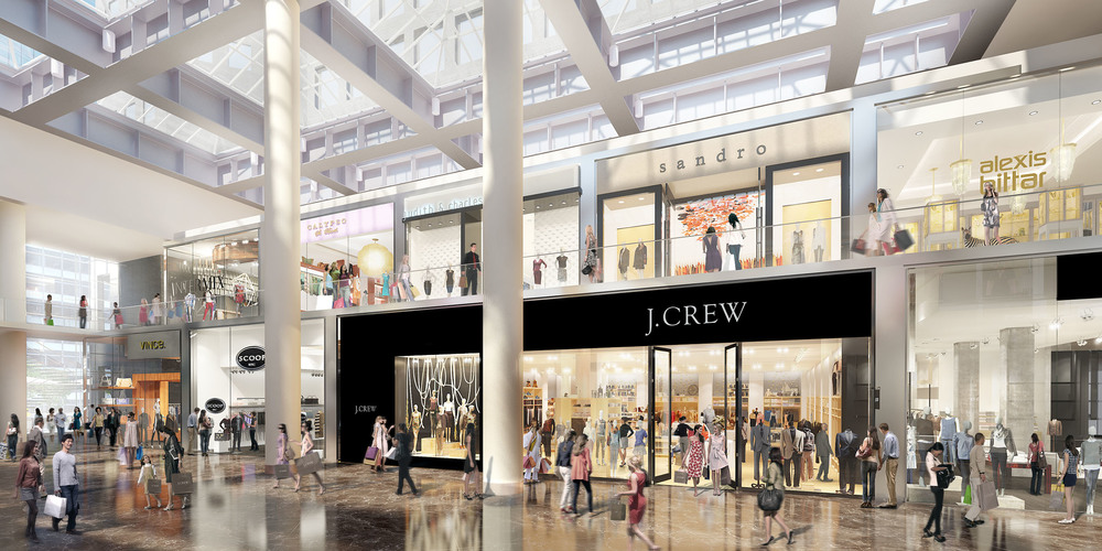 Brookfield Place Retail Conversion Concept