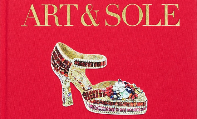 Art & Sole  showcases 150 pairs of the Stuart Weitzman fantasy art shoe collection.  Enter to win your signed copy of this beautiful book by Jane Weitzman in this exclusive Style Maniac giveaway.