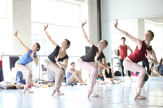 Artists of The Pennsylvania Ballet.(Photo: Alexander Iziliaev)