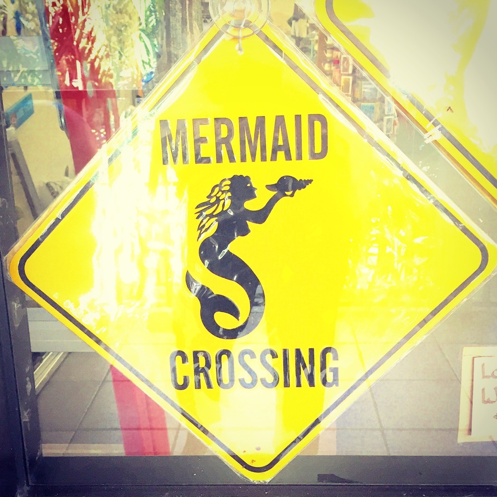 mermaid crossing photo by doreen creede