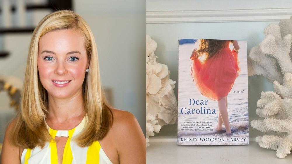 Kristy Woodson Harvey, co-founder of the popular Design Chic blog, and her debut novel Dear Carolina.