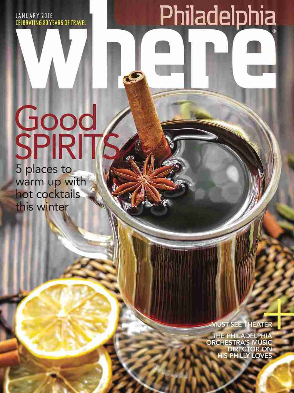 WHERE Magazine fashion and food feature by Doreen Creede january 2016
