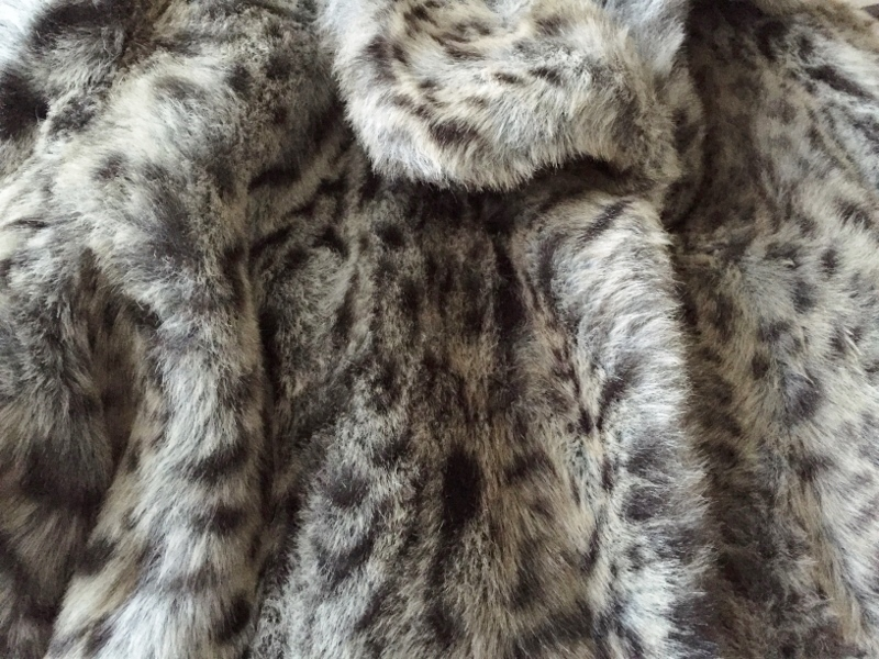 faux fur snow leopard coat photo doreen creede style maniac