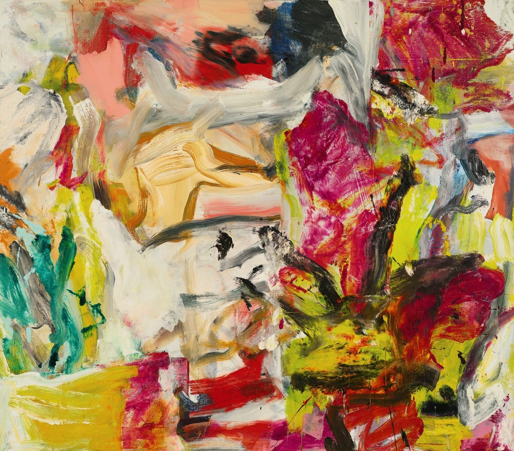 Let there be light and color and art and de Kooning.  Untitled 1977  by Willem de Kooning via  Sotheby's .