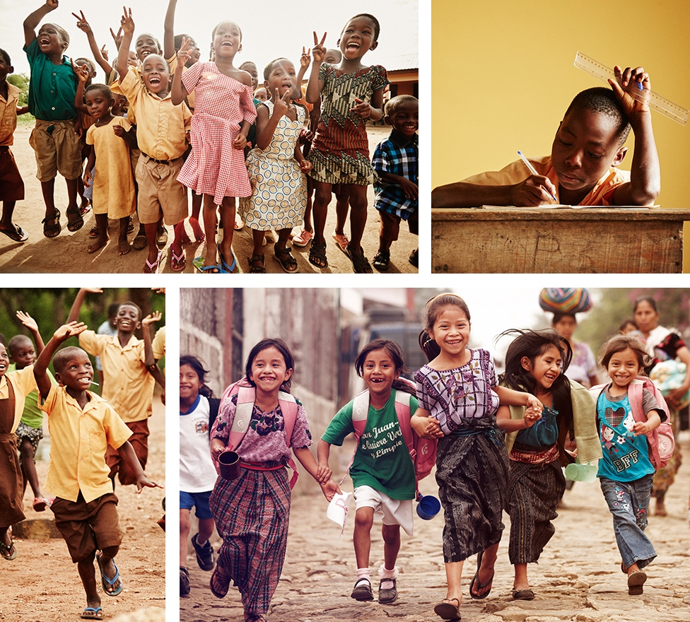 11 Stuart Weitzman Pencils of Promise happy kids.JPG
