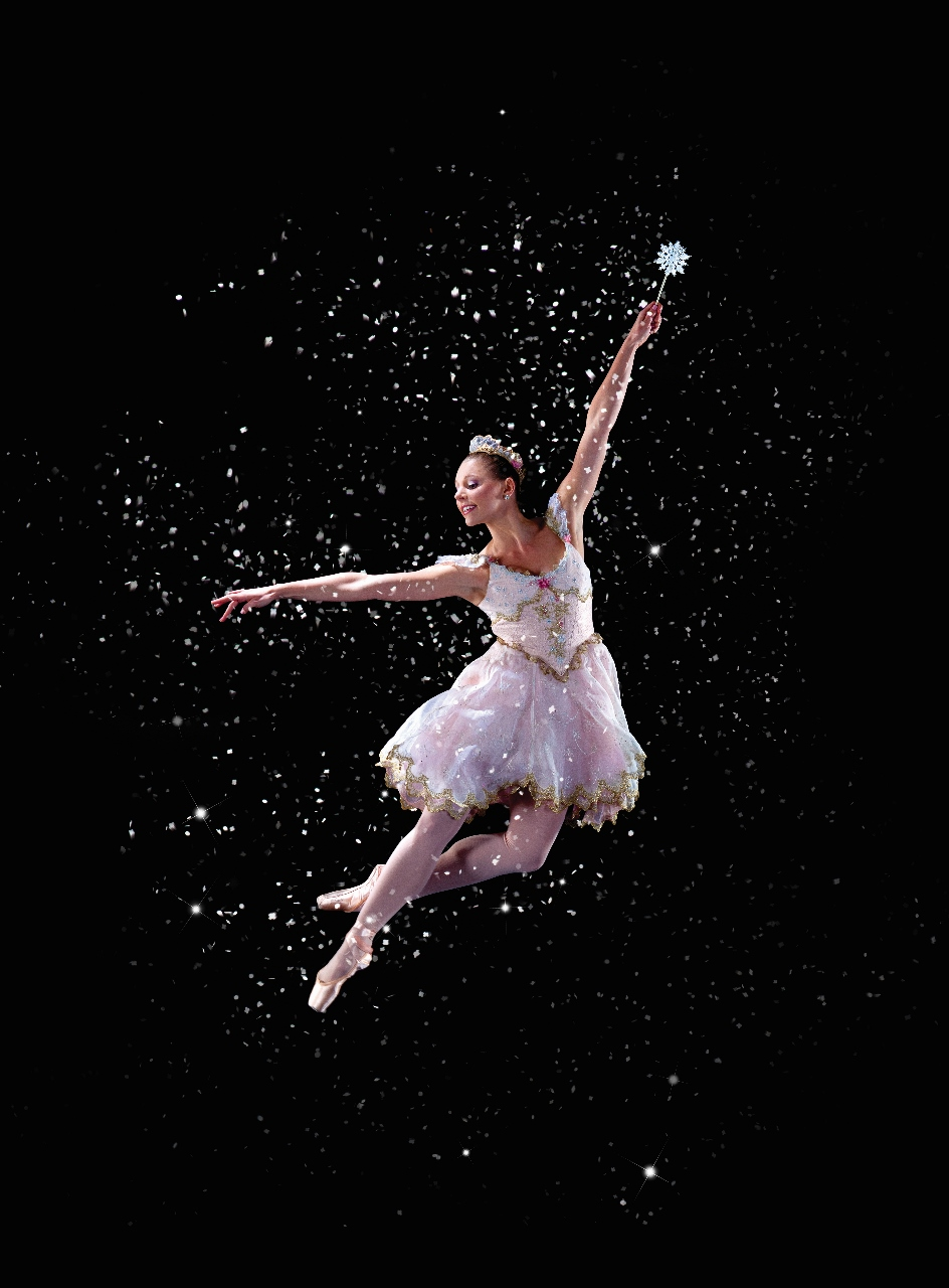 Pennsylvania Ballet principal dance Lauren Fadeley as sugarplum fairy Photo byAlexander Izilaiev