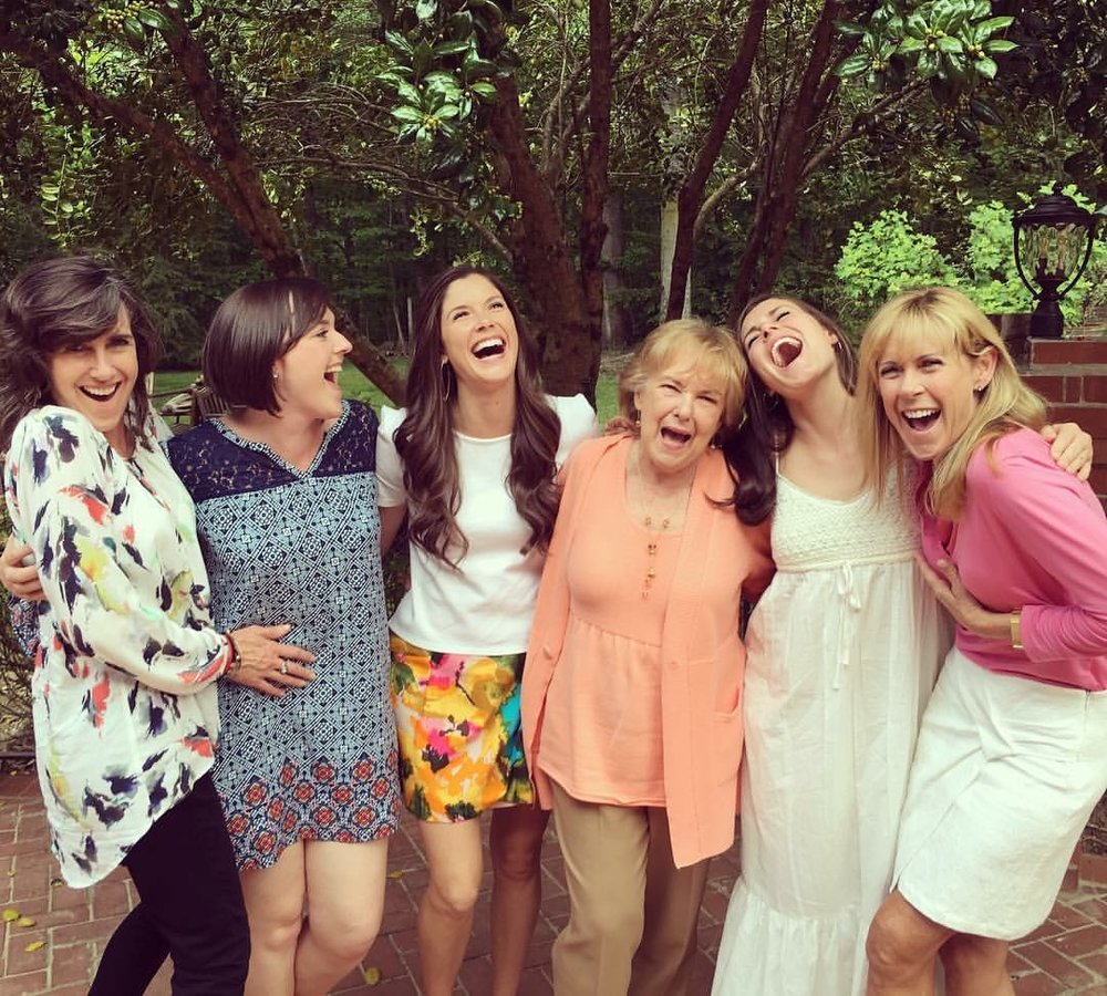 Family & Friends: Susan, Cassidy, Kalen, Joan, Caroline and Marybeth. Photo by Alex. Love you all!