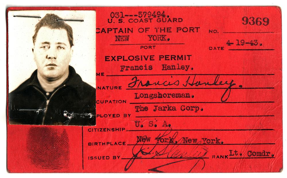 My maternal grandfather, Frank Hanley