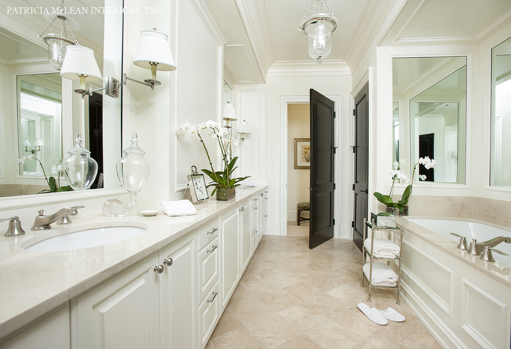 The st regis atlanta unit 1540 traditional model home for Bathroom models photos