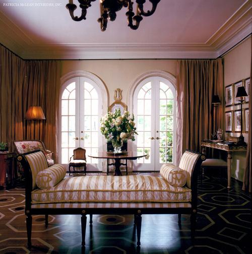 Interiors patricia mclean interiors inc for Chaise interiors inc