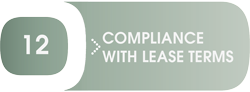 Compliance With Lease Terms: