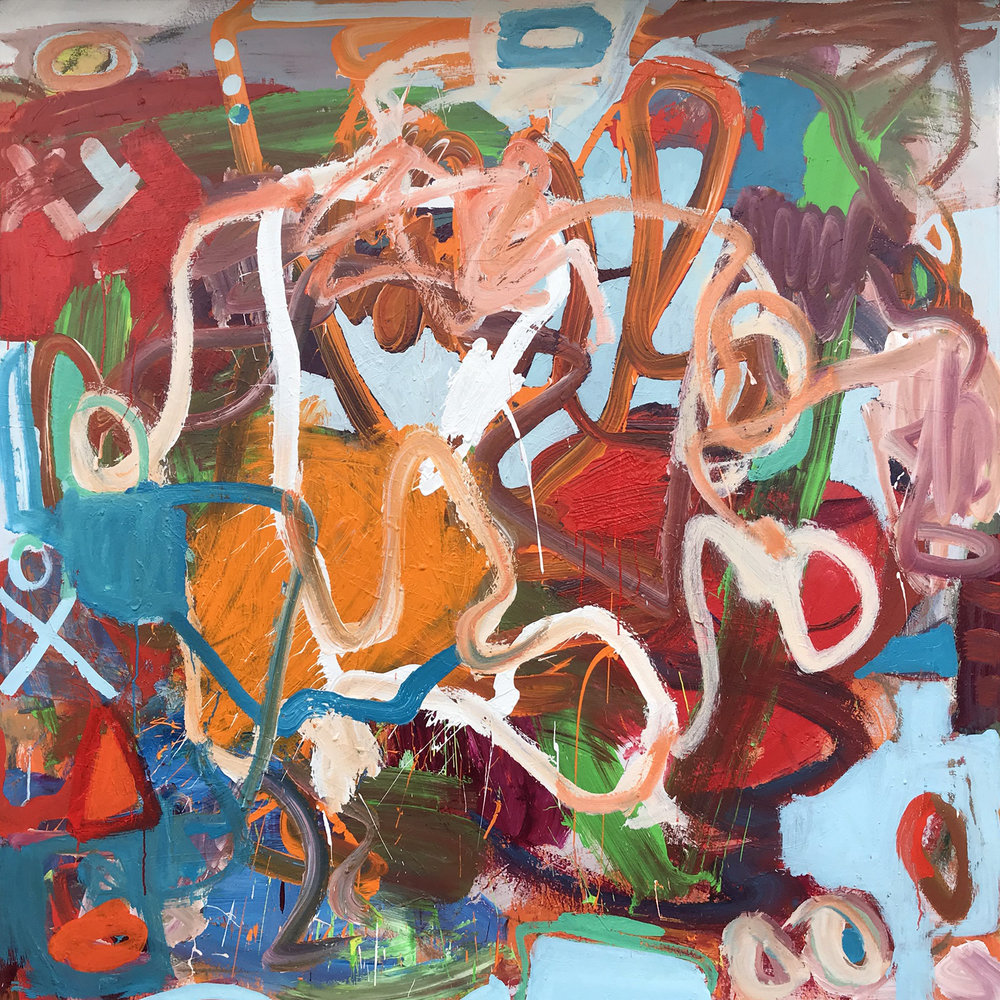 Walk In The Park 70x70 melissa mason abstract art.jpg