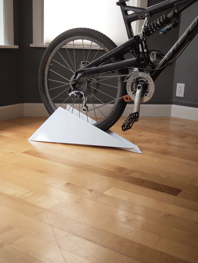 PAPER PLANE BICYCLE STAND