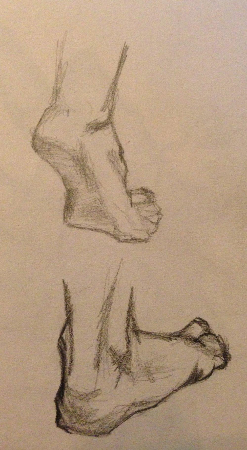 Feet Study No. 1