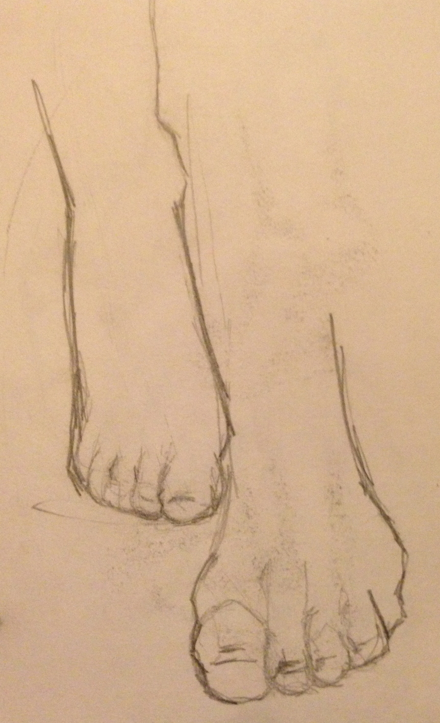 Feet Study No. 2