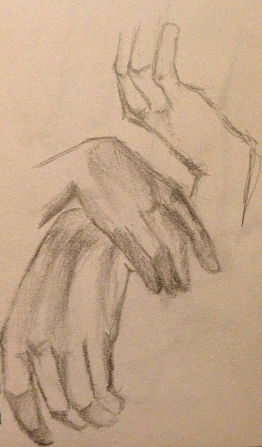 Hands Study No. 1
