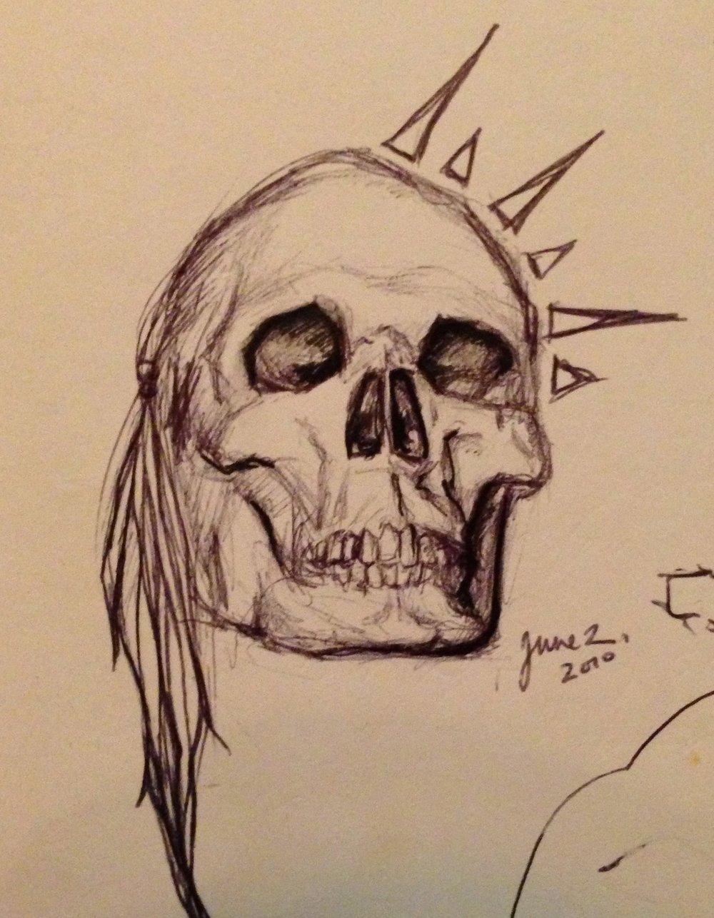 Skull Study NO. 3