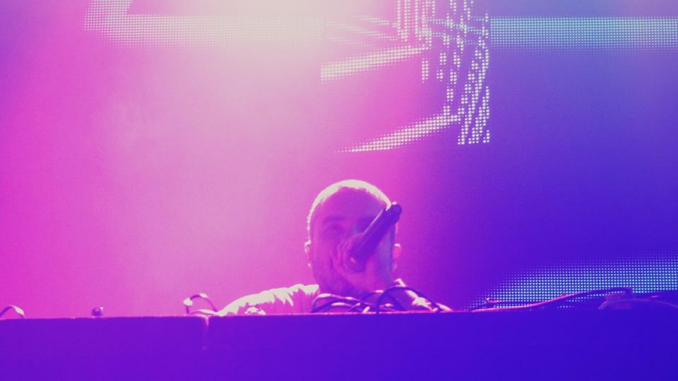 BBC Radio 1's Zane Lowe DJing