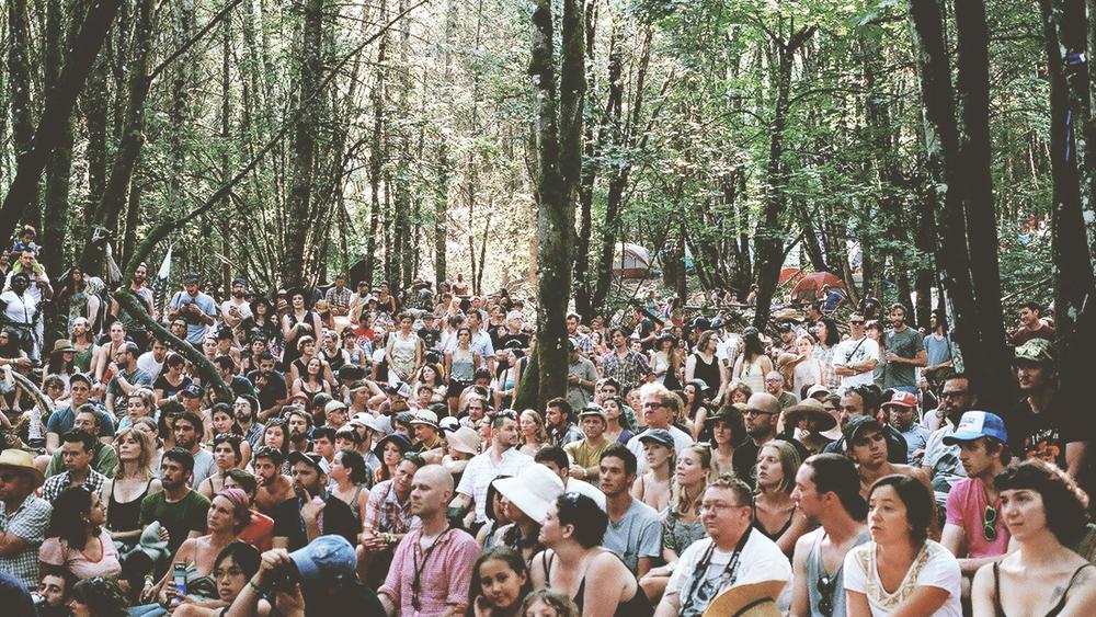 Pickathon crowd.   Photo credit: Drew Bandy