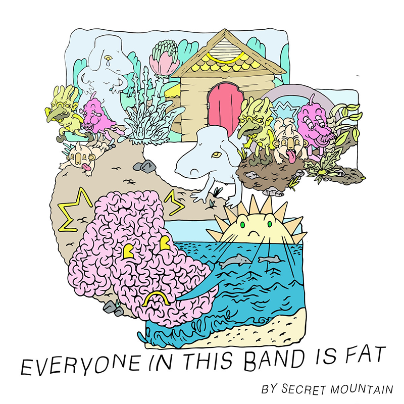 Secret Mountain - Everyone In This Band Is Fat