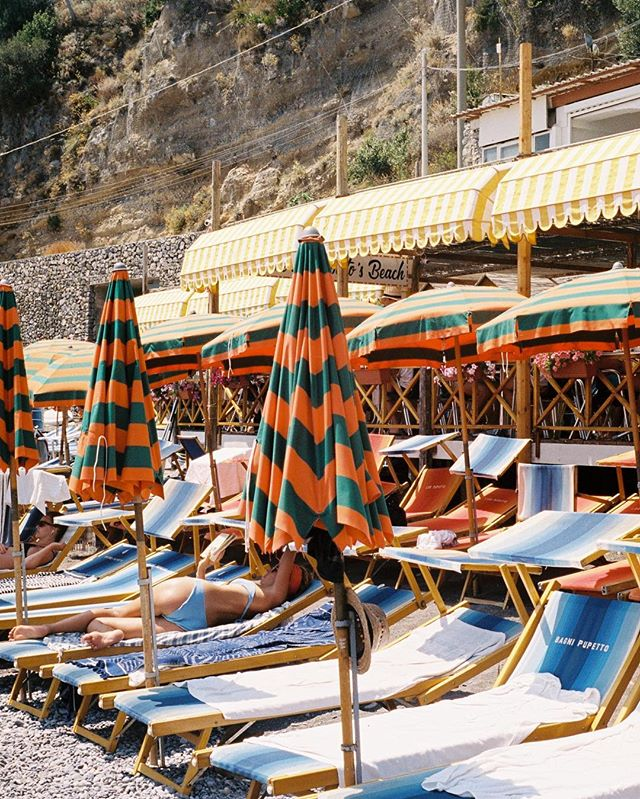 Film from Positano.