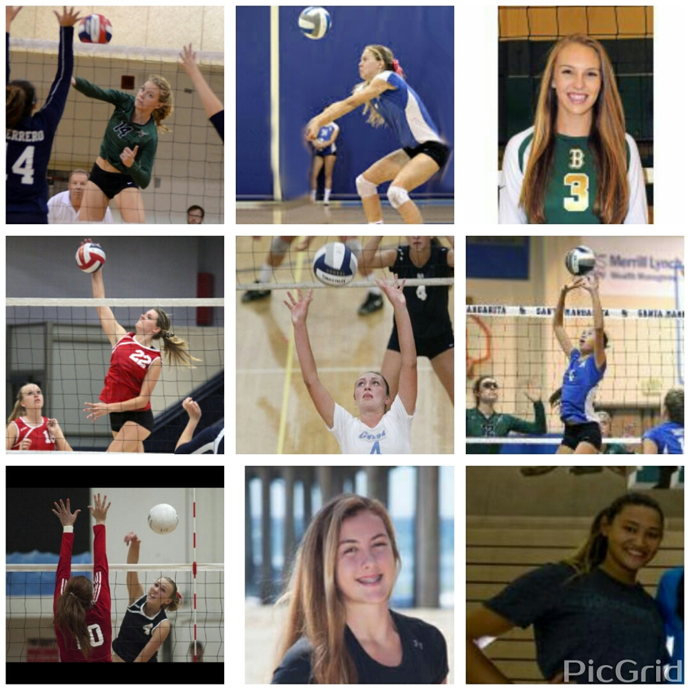 LBVBC All-County Award Winners