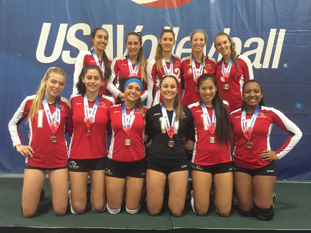 18MS Bronze Medalists at the Girls Junior National Championships