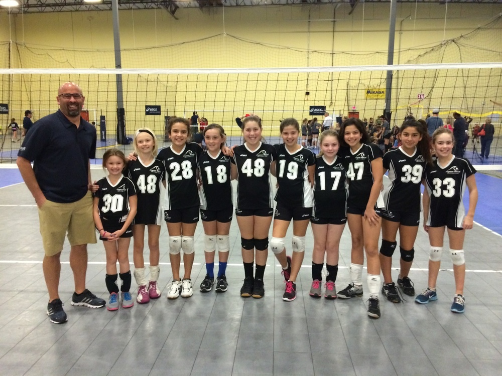 Volley Lites' First Tournament