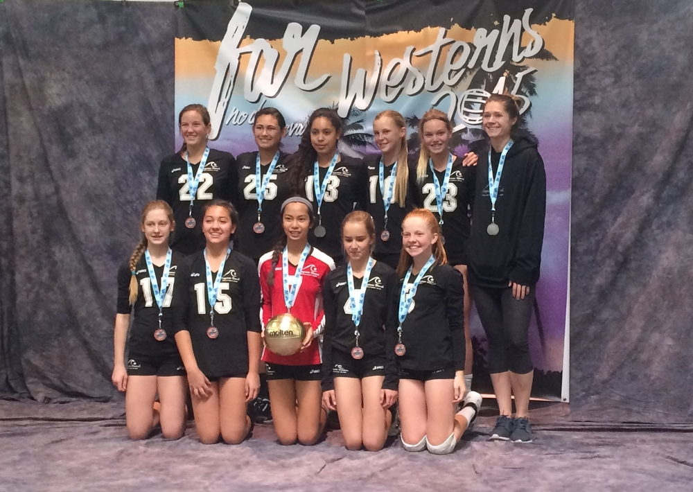 13-Kristina  Silver Medalists at the Far Western Qualifier