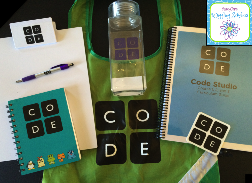 code.org workshop goodies