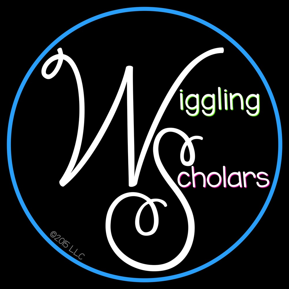 Wiggling Scholars Color Fun New Logo