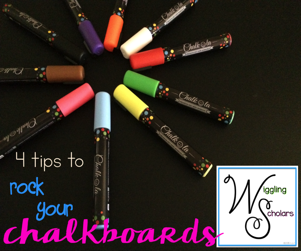4 tips to Rock Your Chalkboards