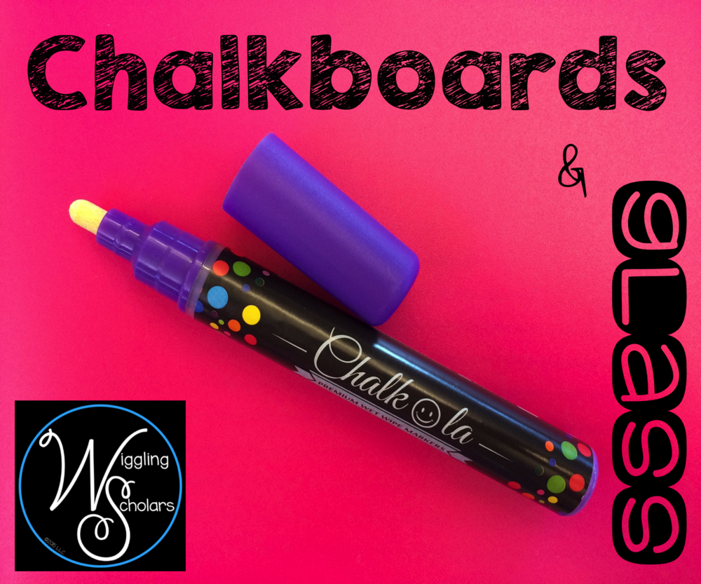 Wet Wipe Markers for Chalkboards and Glass