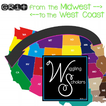 Grit from Midwest to West Coast by Wiggling Scholars
