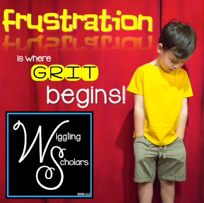 Frustration is Where Grit Begins by Wiggling Scholars
