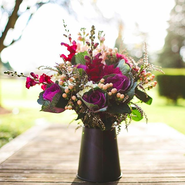 Bouquet details at @bendooleyestate