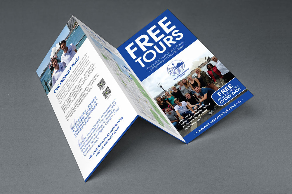 Tri-fold flyer — front