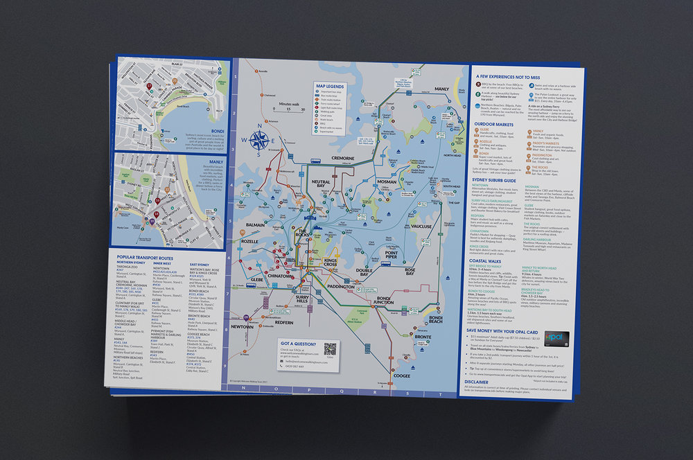 A3 double-sided map — back