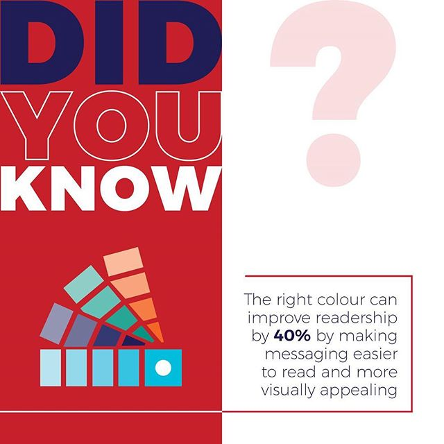 Never underestimate how important choosing the right colours for your brand is. Every colour connotes different emotions and impressions about your brand so think carefully about how you want to be visually perceived. Not sure what colours work best for your brand? We'd be more than happy to discuss the perfect colours for you #colour #branding #messages #impressions