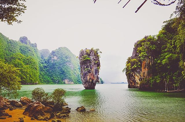 "James Bond Island - This island got this name after appearing in the 1974 James Bond movie ""The Man with the Golden Gun"". But the locals call it Khao Phing Kan..."