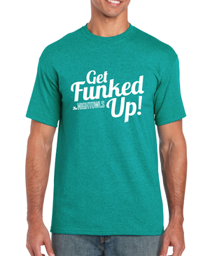 e1bc557f734037 Get Funked Up Tee (Jade)
