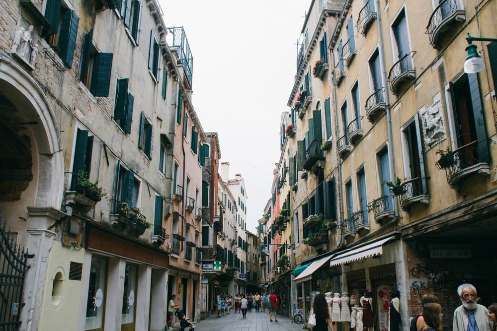 Venice Italy Street Travel