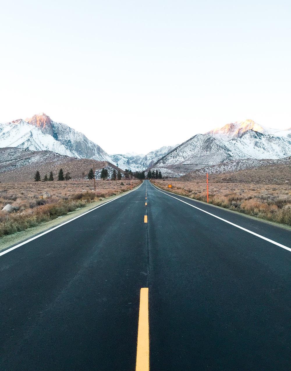 Mammoth Lake Roads