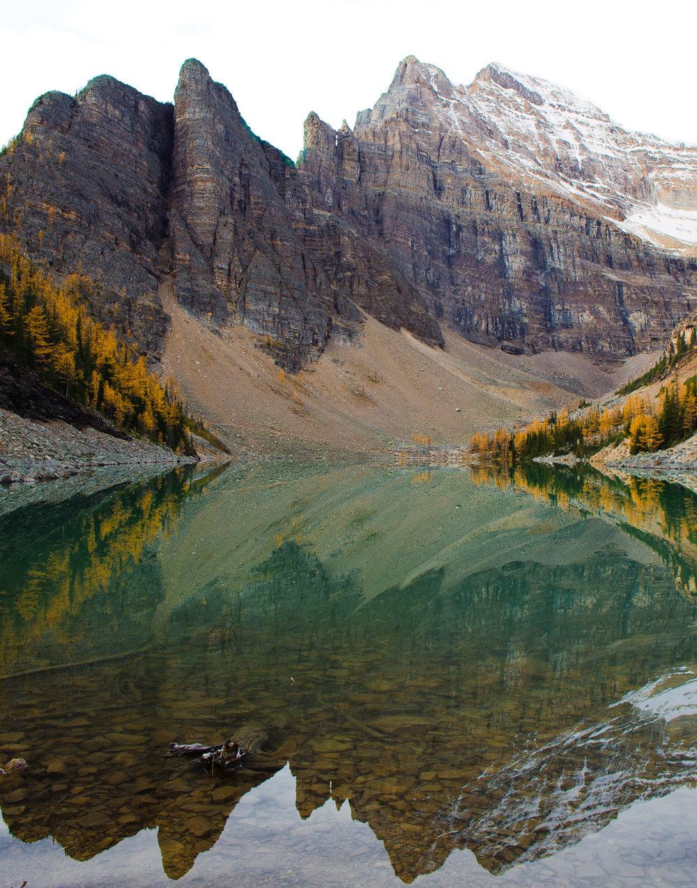 Lake Agnes Reflections