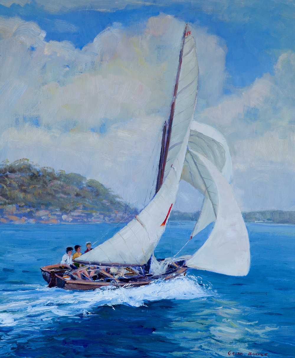 16ft Skiff Sailing Sydney Harbour
