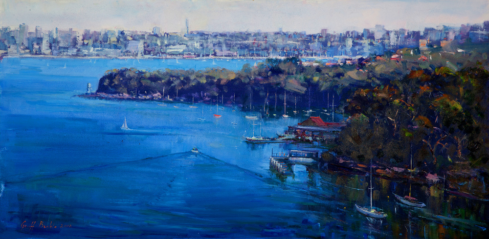 Quiet Harbour in Mosman Bay